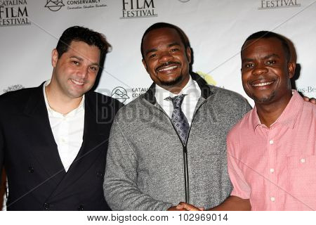 LOS ANGELES - SEP 25:  Ron Truppa, F. Gary Gray at the Catalina Film Festival Friday Evening Gala at the Avalon Theater on September 25, 2015 in Avalon, CA