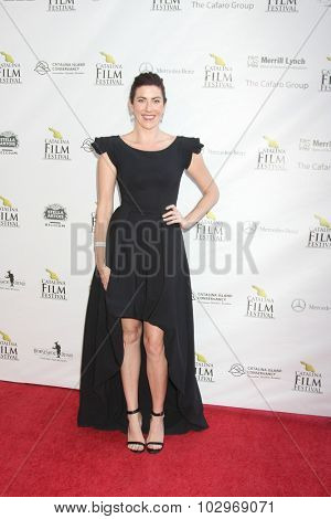 LOS ANGELES - SEP 25:  Kristin Wallace at the Catalina Film Festival Friday Evening Gala at the Avalon Theater on September 25, 2015 in Avalon, CA