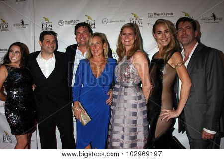 LOS ANGELES - SEP 25:  Turks and Caicos Islands FIlm Festival Group, Ron Truppa at the Catalina Film Festival Friday Evening Gala at the Avalon Theater on September 25, 2015 in Avalon, CA