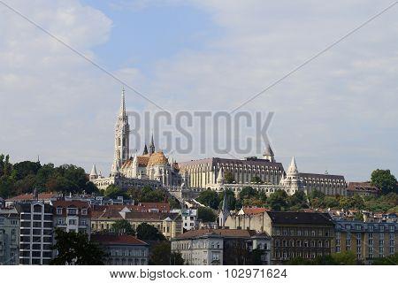 Budapest Matthias Church And Fisherman's Bastion