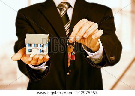 Buying house.