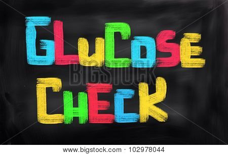 Glucose Check Concept