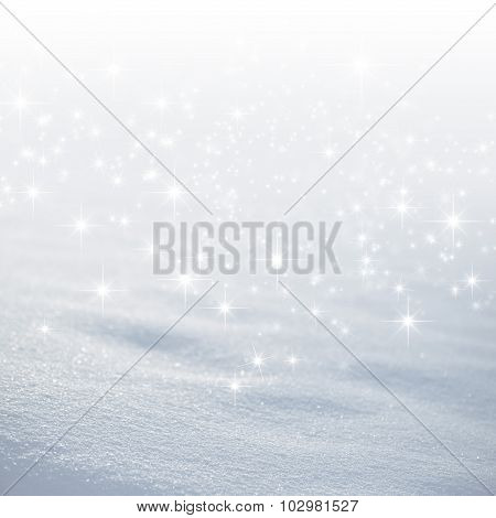 Magic White Snow Background