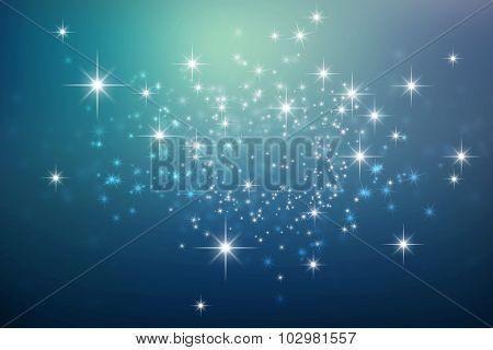 Festive Bright Lights Background