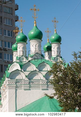 Moscow, Russia. Church Simeon on Cook built in 1676