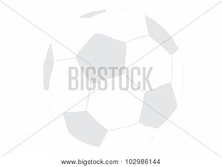 Transparent soccerball