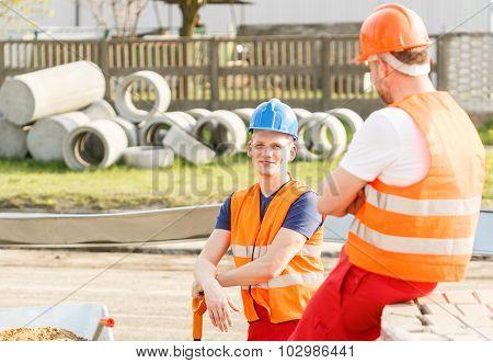 Talking During Work