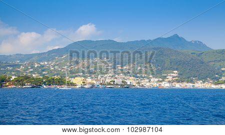 Coastal Landscape Of Ischia Island, Italy