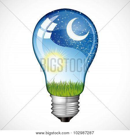 Day Night Light Bulb