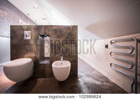Toilet In The Attic