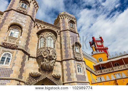 Palace da Pena in Sintra.