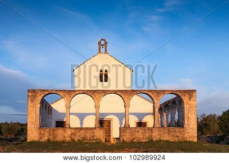 Photo of a old Mediterranean Church