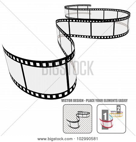 Vector Film Roll