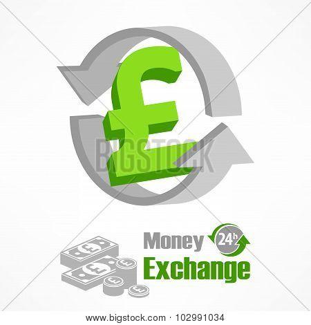 Pound Symbol In Green