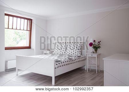 Bedroom In Romantic Style