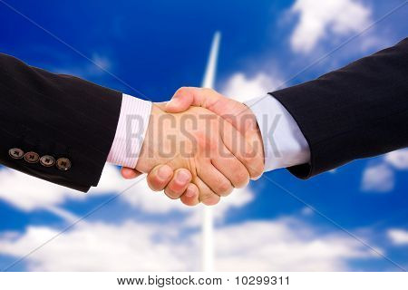 Business Men Hand