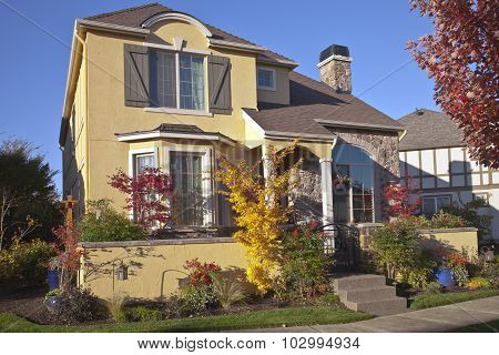 Family Home In Wilsonville Oregon.