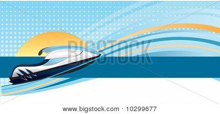 Jet Ski Web or Print Banner