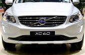 ������, ������: Headlights And Bonnet Of Volvo Series Xc60