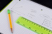 pic of midterm  - Learning Physics With Graph Paper And Measuring Sitck - JPG