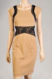stock photo of dress mannequin  - Elegant Female Dress Mannequin  Isolated On Gray Background - JPG