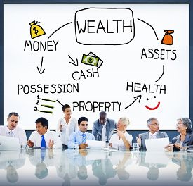 picture of possession  - Wealth Money Possession Investment Growth Concept - JPG