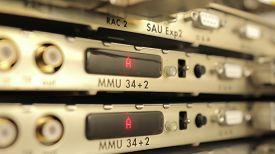 stock photo of wiretap  - Telecommunication equipment - JPG