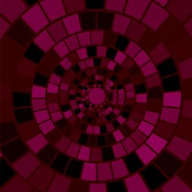 pic of hypnotic  - Red Mosaic Background - JPG