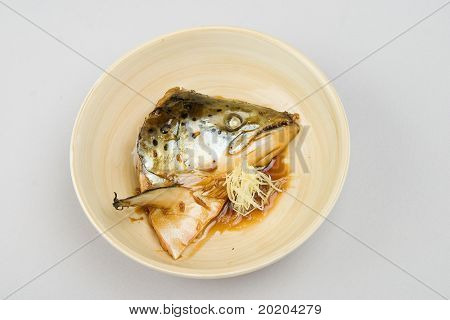 Asian food series:chinese food-cooked fish
