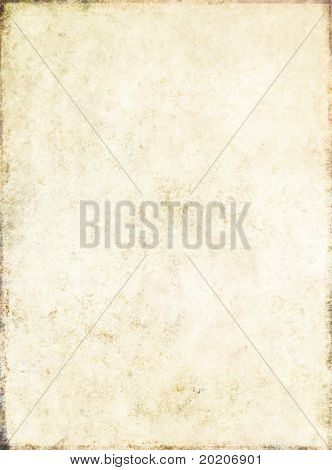 lovely light brown background image with the texture of old paper