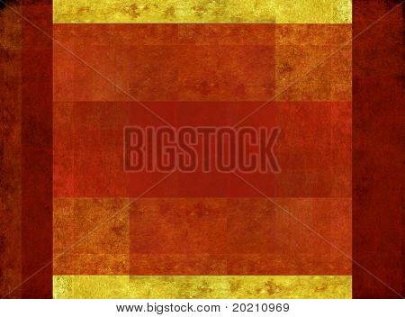 geometric gold and red background image with interesting earthy texture