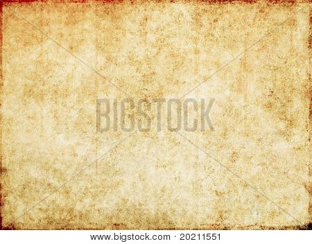 lovely brown background image with the texture of old paper