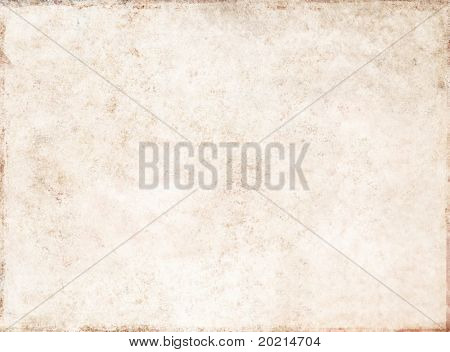 light brown background image with texture of old paper
