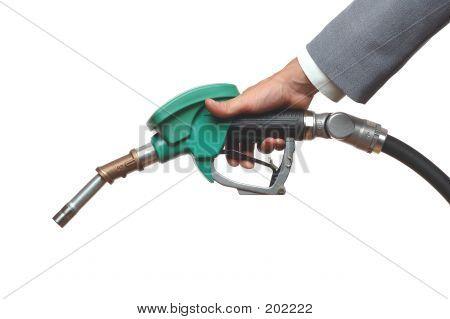 Mano de combustible