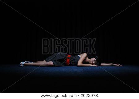 Sleeping On Stage
