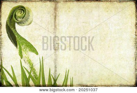 schöne Hintergrundbild mit floralen Elementen. nützliche Design-Element.