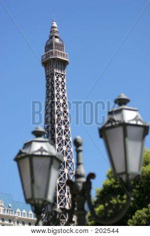 Paris Seen From Las Vegas