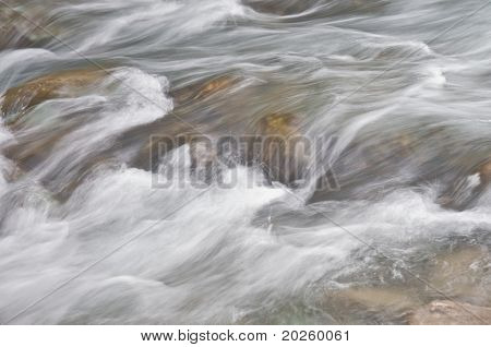 lovely long exposure of river