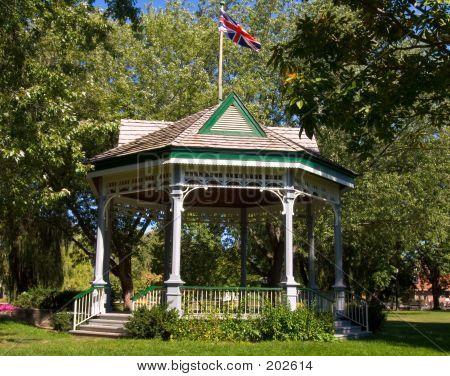 Pavillion In Park