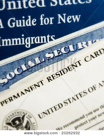New US immigrant documents