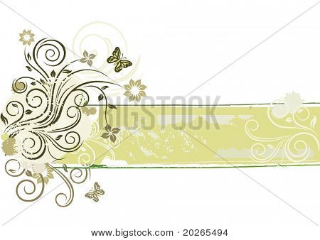 ornamental floral design