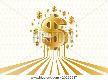 vector money background