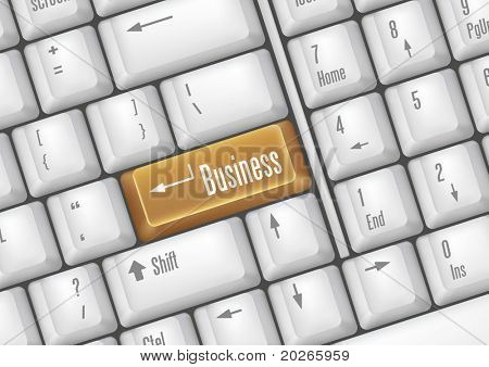 keyboard buttons - business