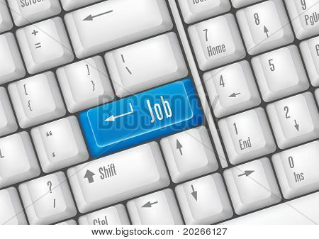 keyboard buttons-job
