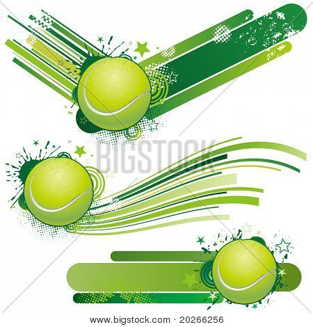 Tennis-Design-element