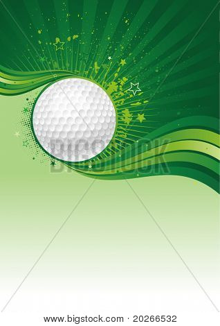 golf sport design element