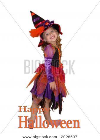 Pretty Halloween Witch