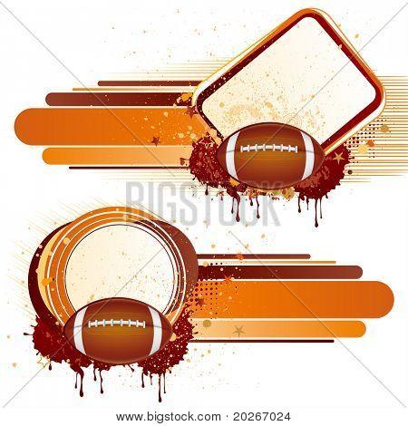American football sport,vector design elements