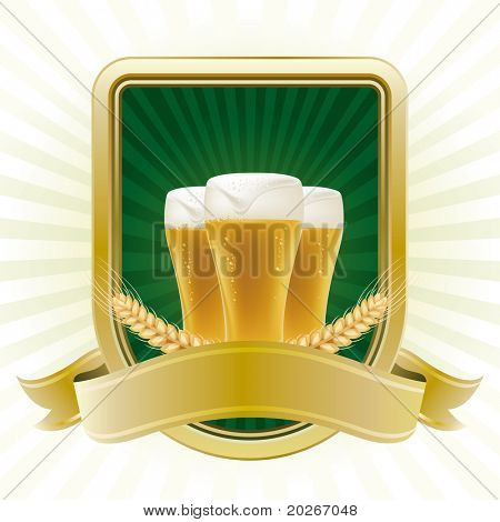 beer design element,abstract backgrounds