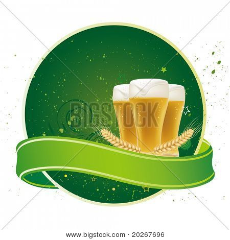 design element for beer